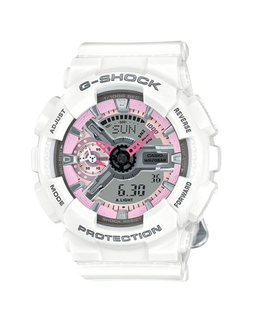 G-Shock | White G-shock 'ana-digi' Resin Watch | Lyst