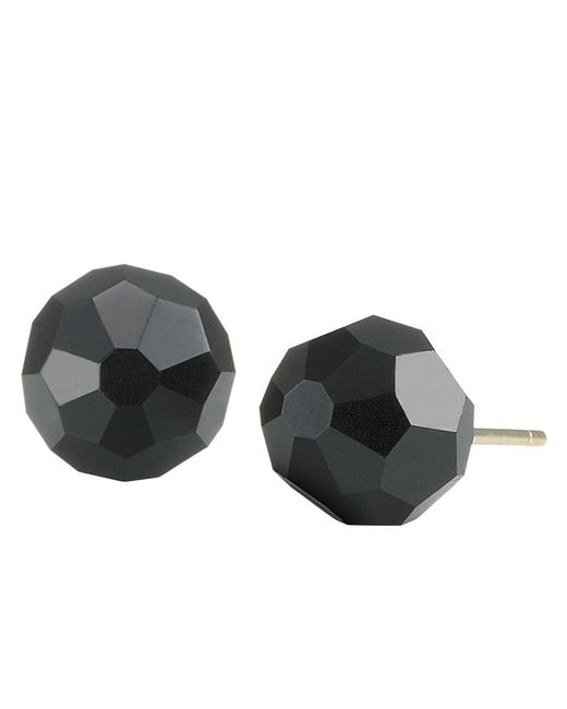 Carolee | Black Jet Crystal Earrings | Lyst