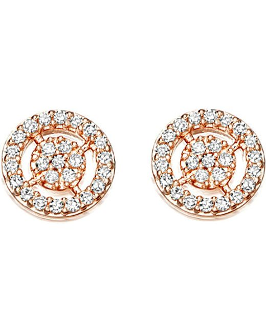 Astley Clarke | Pink Mini Icon Aura Stud Earrings | Lyst