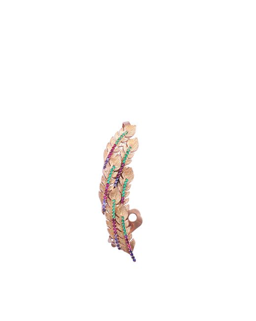 Joanna Laura Constantine   Pink Xl Feather Earcuff   Lyst