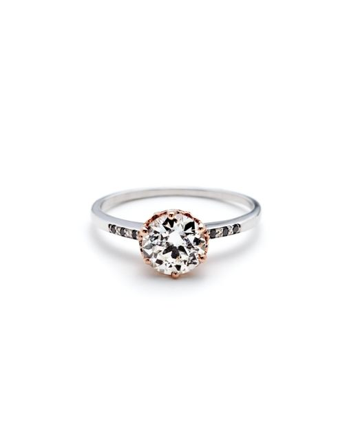 Anna Sheffield | Metallic Hazeline Ring | Lyst