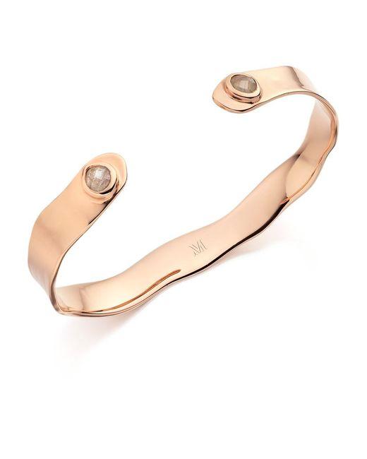 Monica Vinader | Metallic Siren Thin Cuff Bracelet | Lyst