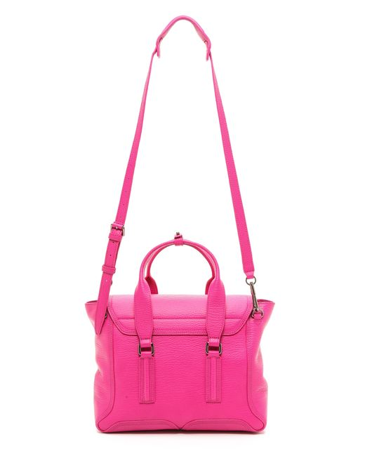 3.1 Phillip Lim | Pink Pashli Medium Satchel | Lyst