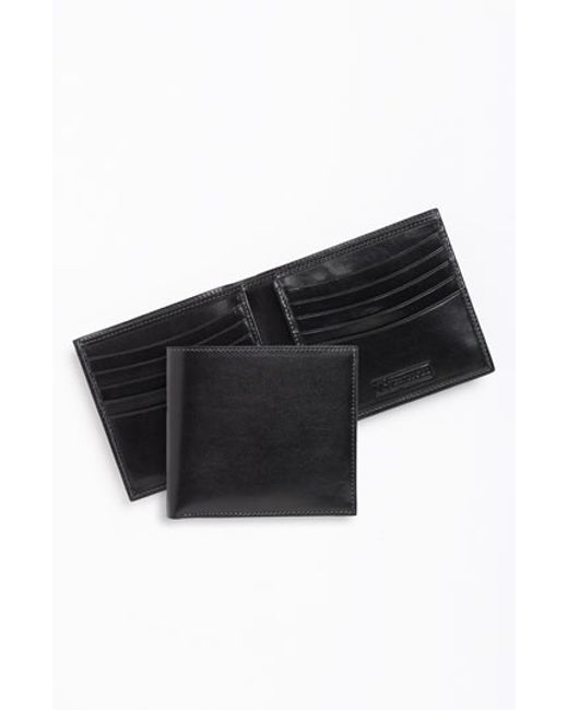 Trafalgar | Black 'cortina' Bifold Wallet for Men | Lyst