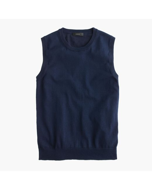 J.Crew | Blue Cotton Jackie Shell | Lyst