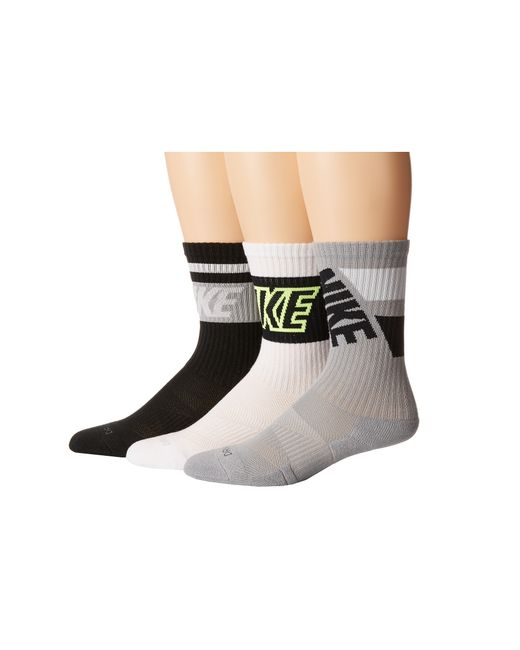 Nike | Multicolor Dri-fit Crew Sock 3-pair Pack | Lyst