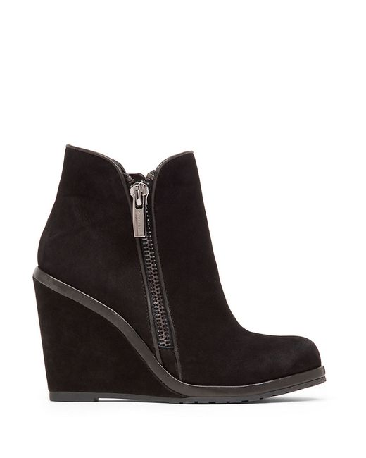 Vince Camuto | Black Jeffers Wedge Bootie | Lyst