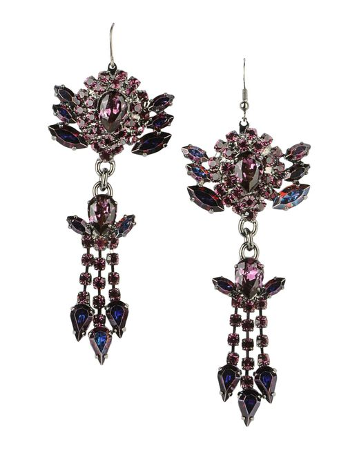 Emanuele Bicocchi | Purple Earrings | Lyst