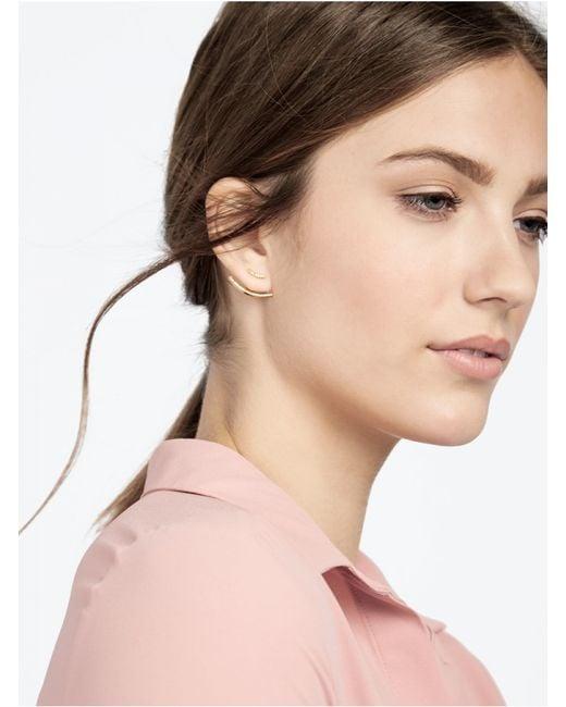 BaubleBar | Metallic Bridge Ear Jackets | Lyst