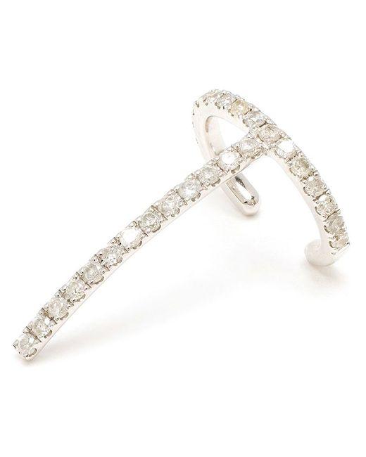 Asherali Knopfer   Metallic 'theo' Diamond Earring   Lyst