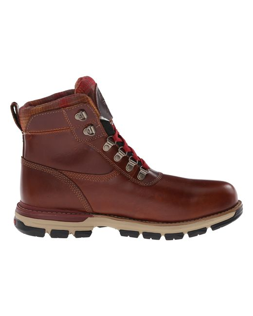 Timberland Heston Mid W/ Gore-tex® Membrane in Red for Men (Brown)   Lyst