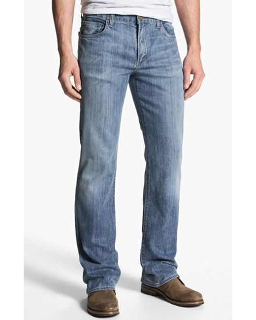 Vanity Jeans For Men : Citizens of humanity relaxed fit bootcut jeans in blue for