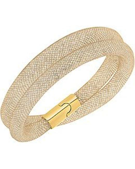 Swarovski | Metallic Stardust Double Bracelet Small 38cm | Lyst