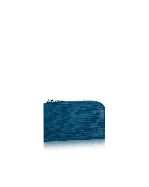 Louis Vuitton | Blue Coin Purse for Men | Lyst