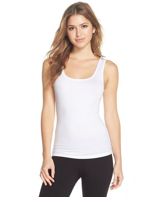 Hanro | White 'soft Touch' Layering Tank | Lyst