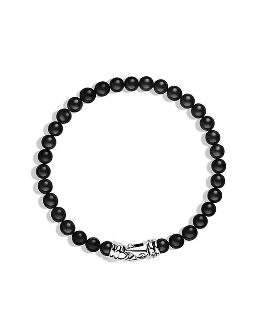 David Yurman | Spiritual Beads Bracelet With Black Onyx, 6mm for Men | Lyst