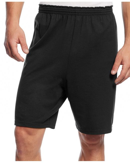 Champion | Black Men's Jersey Shorts for Men | Lyst