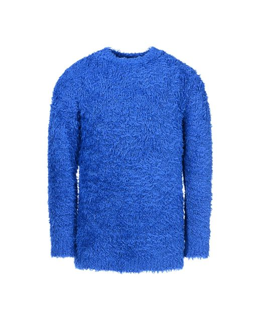 Moschino | Blue Soft Sweater for Men | Lyst