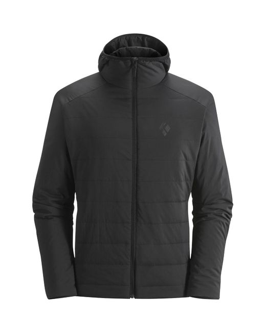 Black Diamond - Gray First Light Insulated Hooded Jacket for Men - Lyst