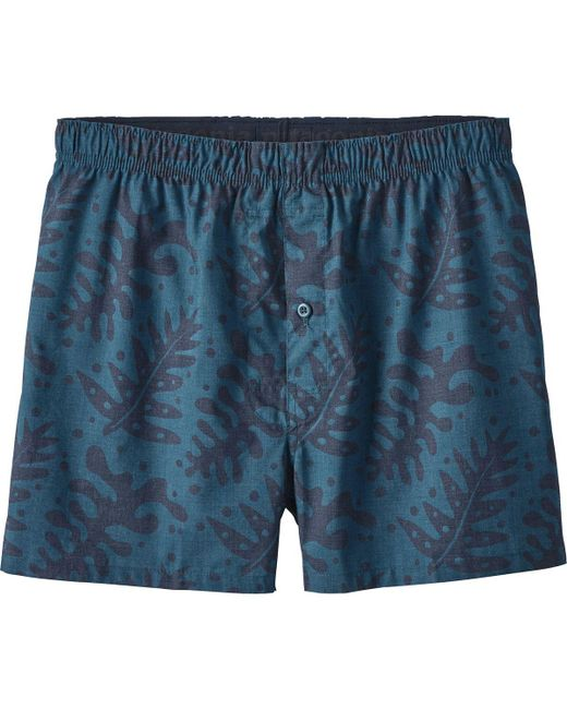 Patagonia | Blue Go-to Boxer for Men | Lyst