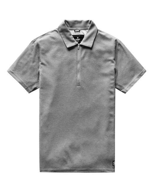 Reigning Champ - Gray Coolmax Pique Polo for Men - Lyst