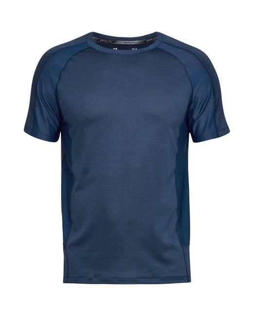 Under Armour - Blue Speed To Burn Short-sleeve T-shirt for Men - Lyst
