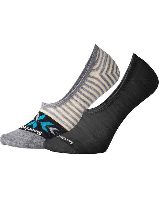 Smartwool - Multicolor 2 Pack Hide And Seek No Show Socks - Lyst