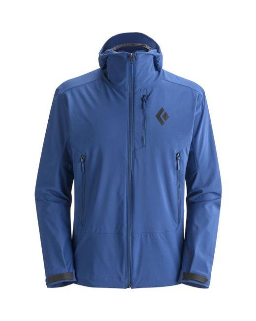 Black Diamond | Blue Dawn Patrol Softshell Jacket for Men | Lyst