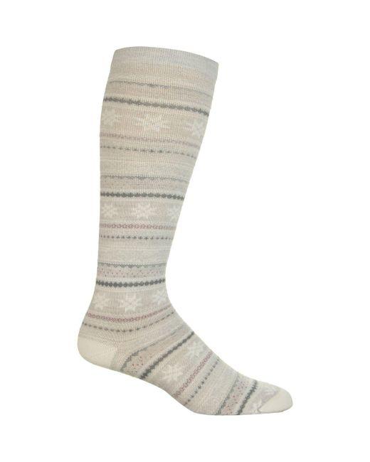 Woolrich - Gray Novelty Merino Knee Hi Snowflake Sock - Lyst