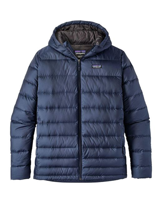 Patagonia | Blue Hi-loft Hooded Down Jacket for Men | Lyst