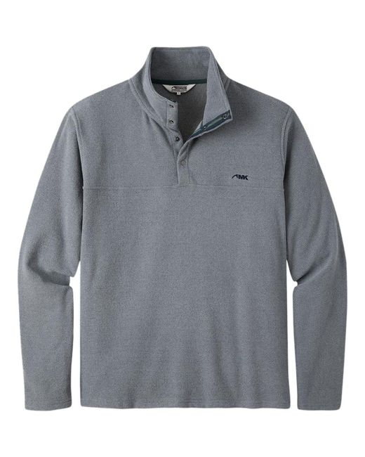 Mountain Khakis - Gray Pop Top Pullover for Men - Lyst