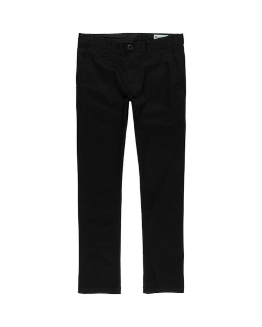 Volcom - Black Frickin Modern Stretch Chino Pant for Men - Lyst
