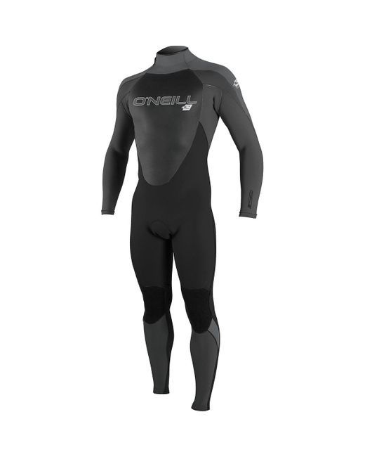 O'neill Sportswear Black Epic 3/2 Back-zip Full Wetsuit for men