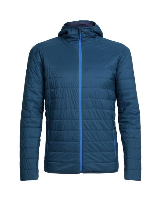 Icebreaker - Blue Hyperia Hooded Jacket for Men - Lyst