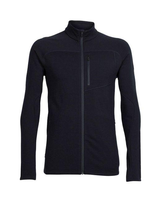 Icebreaker - Black Mt Elliot Fleece Jacket for Men - Lyst