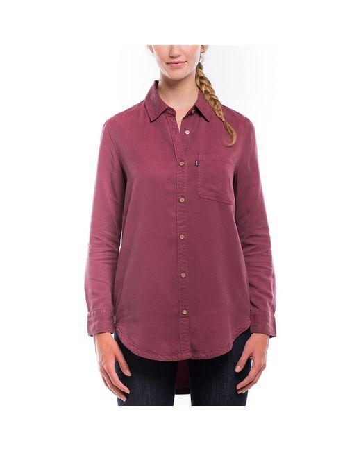 Tentree - Red Lush Shirt - Lyst