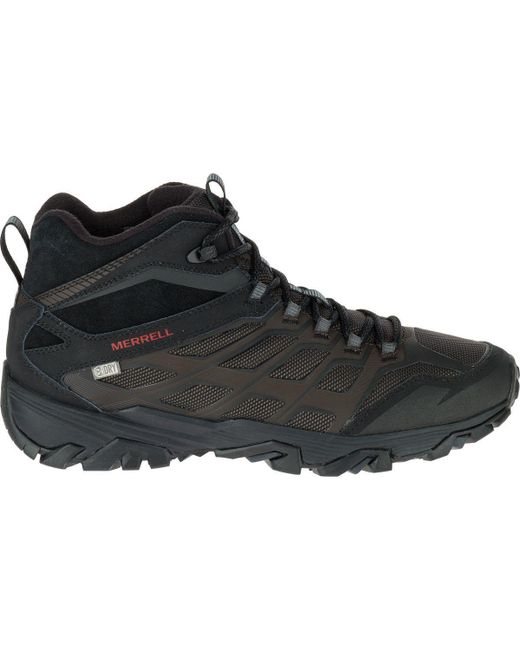 Merrell | Black Moab Fst Ice Plus Thermo Hiking Boot for Men | Lyst