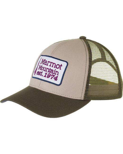 Marmot - Multicolor Retro Trucker Hat for Men - Lyst