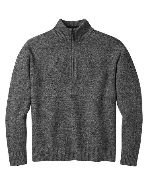 Smartwool - Gray Ripple Ridge 1/2-zip Sweater for Men - Lyst