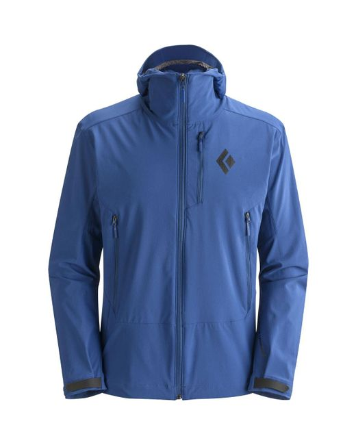 Black Diamond | Blue Dawn Patrol Softshell Jacket for Men | Lyst