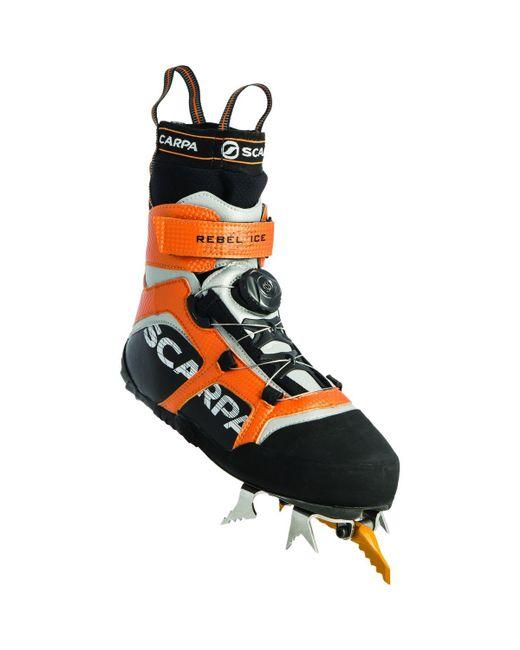 SCARPA | Black Rebel Ice Boot for Men | Lyst