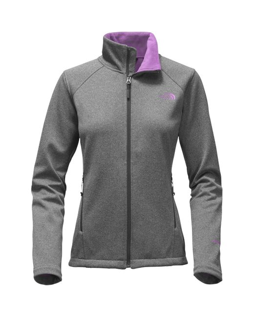 The North Face | Gray Canyonwall Fleece Jacket | Lyst