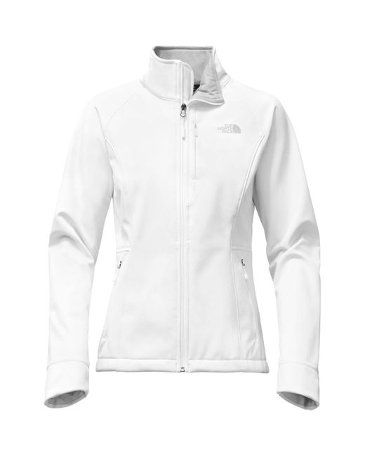 The North Face | White Apex Bionic 2 Softshell Jacket | Lyst