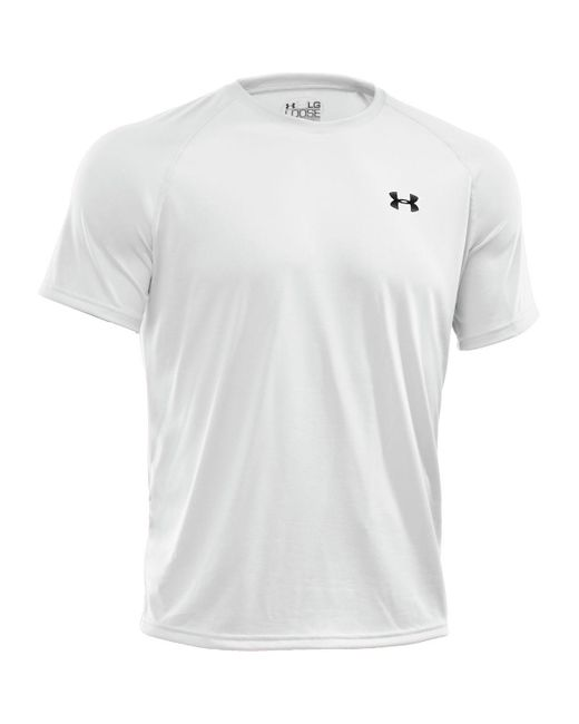 Under Armour | White Tech Short Sleeve T-shirt for Men | Lyst