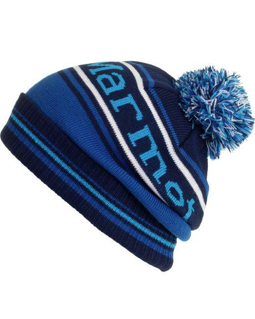 Marmot | Blue Retro Pom Hat for Men | Lyst