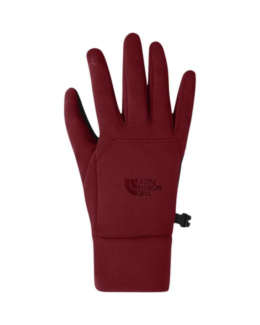 The North Face - Red Etip Glove - Lyst