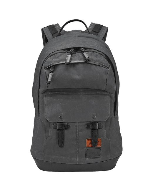 Nixon - Black West Port Backpack for Men - Lyst