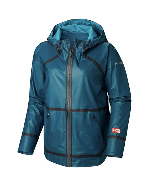 Columbia Outdry Ex Reversible Ii Jacket in Blue - Lyst