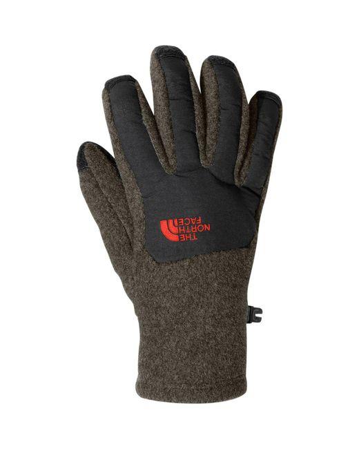 The North Face | Gray Denali Etip Glove | Lyst