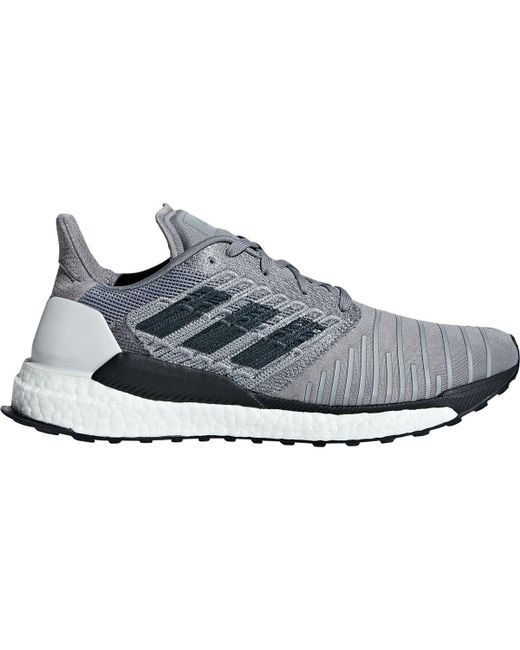 in stock de8b5 a5ab8 Adidas - Gray Solar Boost Running Shoe for Men - Lyst
